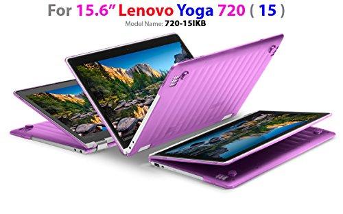mCover Hard Shell Case for 15.6 Lenovo Yoga 720 (15) Laptop (Purple)