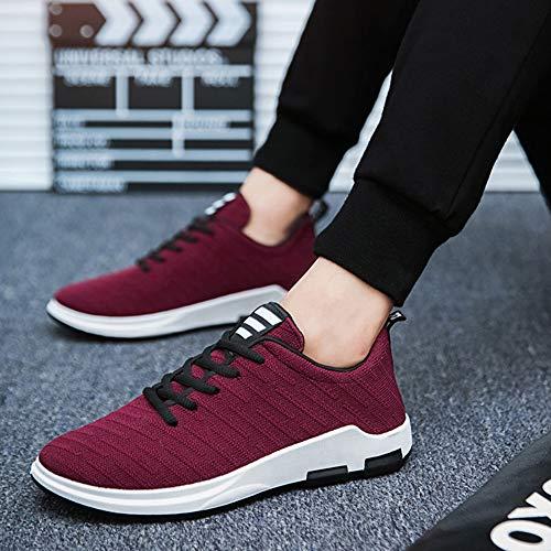 Da Running Sportive Rosso Basse Fitness Inverno Xfentech Scarpe All'aperto Casual Moda Uomo Sneakers UqqXBa
