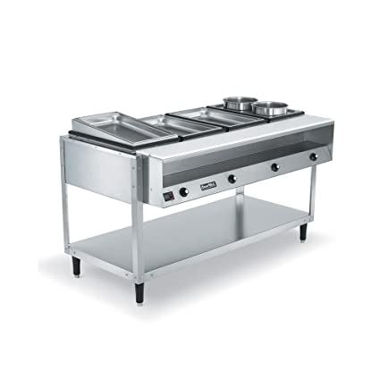 Amazoncom Vollrath Servewell Well Hot Food Table Steam - 4 well gas steam table