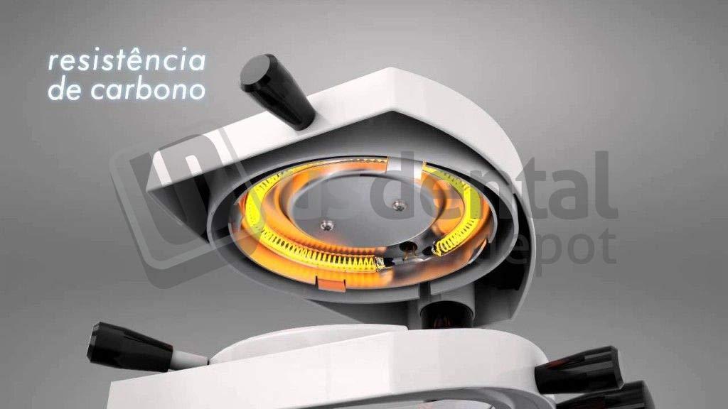 BIOART Carbon Fiber Resistance 110volts [ Heating Element Termo Formadora Maquinas Forming Machines formadores de vacio Vacuum Former ] 124061 Us Dental Depot
