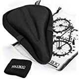 Most Comfortable Bike Seat Cushion Cover - Premium Quality Exercise Bicycle Saddle Pad With Soft Gel for Women and Men - Great for Indoor Cycling Class and Stationary Bikes