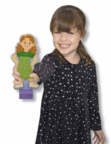 Amazing Melissa and Doug Maggie Leigh Magnetic Dress-Up - Doll Magnetic Leigh Up Dress