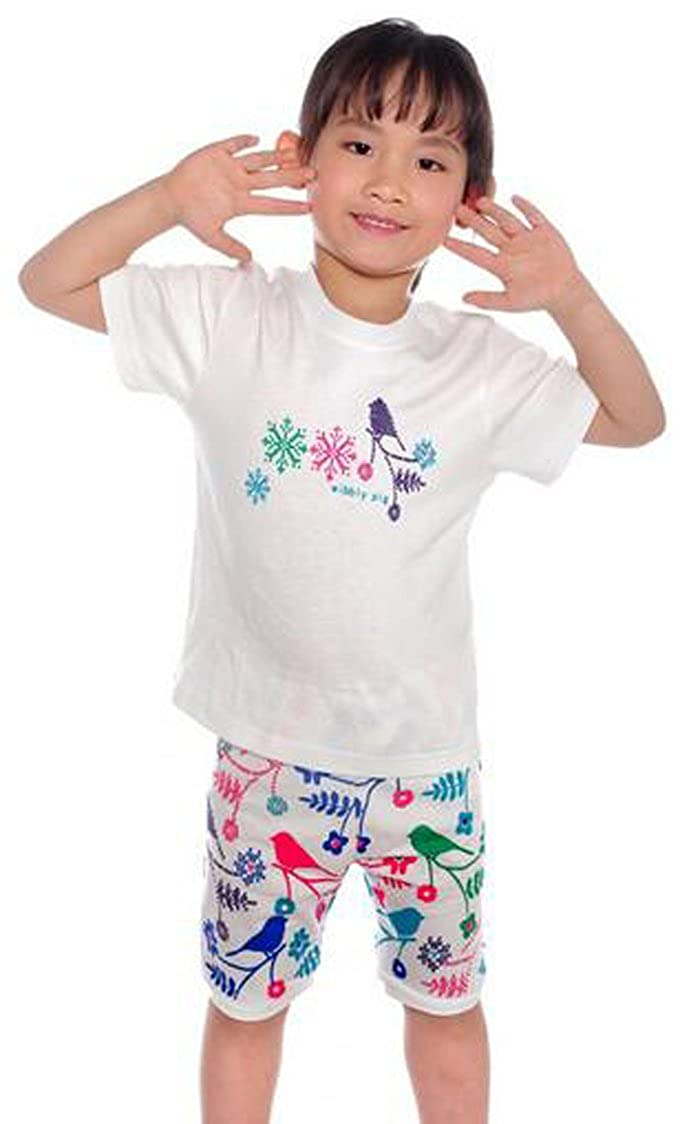 Babygp  bird little girl shorts 2 Piece Pajama 100/% Cotton size:2-7 years