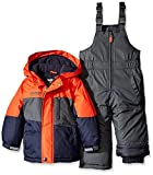 Osh Kosh Little Boys' Snowsuit With Heavyweight Coat, Orange, 5/6