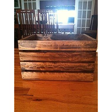 Rustic Wood Crate