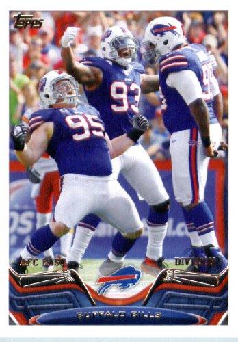 2013 Topps Football Card #346 Marcell Dareus / Kyle Williams / Mark Anderson - Buffalo Bills (Team Card) NFL Trading Cards