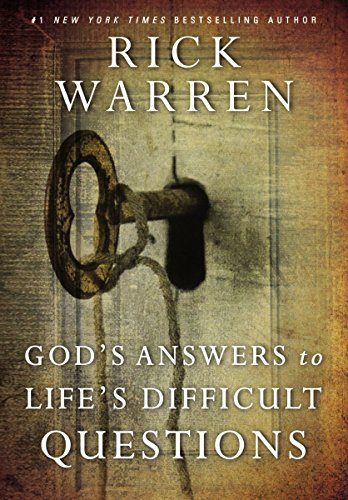 God's Answers to Life's Difficult Questions (Living with Purpose) cover