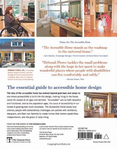 The Accessible Home: Designing for All Ages and Abilities: Deborah ...