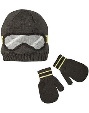 Baby Boys' Winter Hat-Glove Sets D08g041