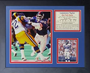 """Legends Never Die Lawrence Taylor Collage Photo Frame, 11"""" x 14"""""""
