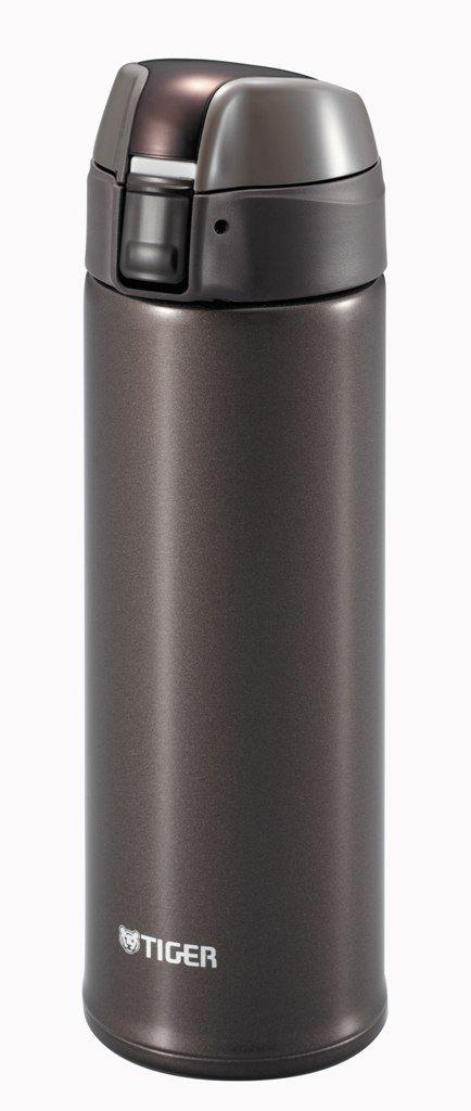 TIGER Stainless Steel Metallic Brown Tumbler 0.5L MMQ-S050-TV