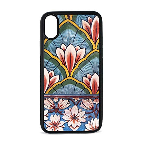 Art Art Chandra (Case for iPhone Mural Decorative Wall Hanging Art Digital Print TPU Pc Pearl Plate Cover Phone Hard Case Cell Phone Accessories Compatible with Protective Apple Iphonex/xsCase 5.8 Inch)