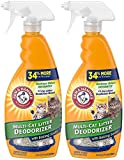 Arm and Hammer Cat Litter Deodorizer Spray - 21.5 Fl Oz [2-Pack]