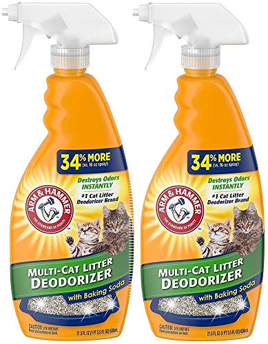 Arm and Hammer Cat Litter Deodorizer Spray, 21.5 Fl Oz