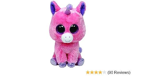 445b9b81a71 Amazon.com  Ty Beanie Boos Magic Plush - Pink Unicorn  Toys   Games