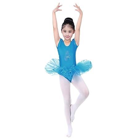 a05bac1d947e Wanshop Girls Kids Ballet Tutu Dress Gymnastics Dance Leotard ...