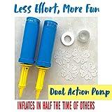WHISPER AND ROSE Balloon Pump - Powerful Hand Air