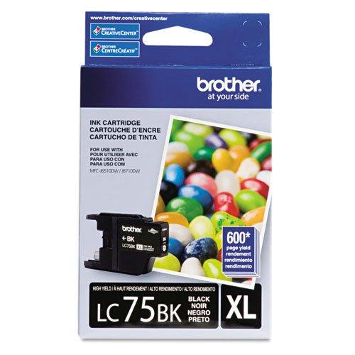 BRTLC75BK Brother LC 75BK Innobella High Yield