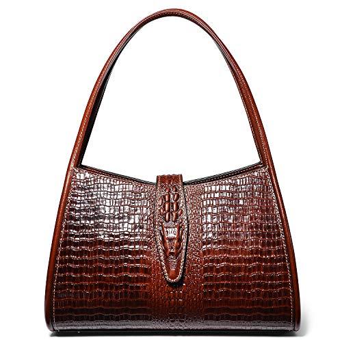 PIJUSHI Designer Shoulder Purses Hobo Handbags for Women Leather Tote Shoulder Bags