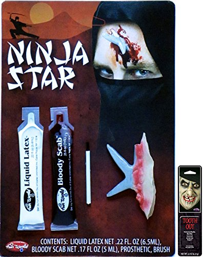 Potomac Banks Victim FX Kits (Ninja Star) with Free Pack of Makeup]()