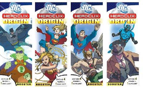 DC Heroclix Origins Booster Pack by - Heroclix Dc Origin Booster
