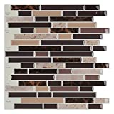 Art3d Self Adhesive Wall Tile Peel and Stick Backsplash for Kitchen (10 Tiles)