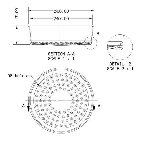 IMS E61 Precision Group Shower Screen