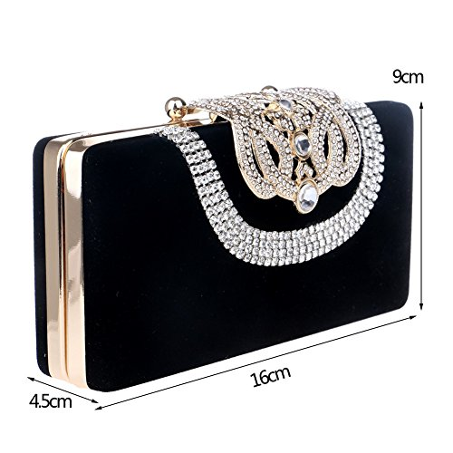 Red Fashion Evening Bags Bags Luxury Banquet ZYXCC Bags Evening Party Diamond Ladies SHISHANG g4w7xqUc