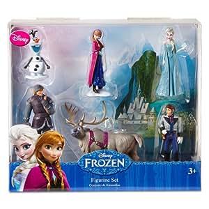 Disney Frozen 6 pc Figurine Figure Set Sven, Hans, Anna, Elsa, Kristoff and Olaf