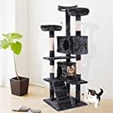 """60"""" Cat Tree Tower Condo Furniture Scratch Post Kitty Pet House Play"""