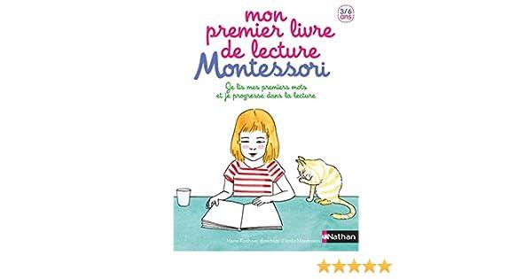 Mon Premier Livre De Lecture Montessori Je Lis Mes