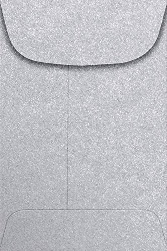 #4 Coin Envelopes (3 x 4 1/2) - Silver Metallic (500 Qty.) | Perfect for storing Small Parts, Coins, Jewelry, Stamps, Seeds, Small Electronic Parts and so much more! | 4CO-06-500 by Envelopes.com