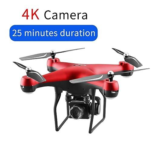 JohnnyLuLu S32T FPV GPS RC Drone con cámara 4K HD PTZ, aplicación ...
