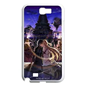 Sword Art Online Samsung Galaxy N2 7100 Cell Phone Case White