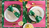 DII Cotton Ribbed Table Placemat for Valentine's