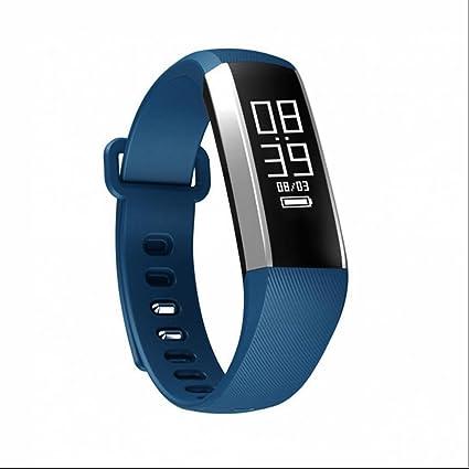 Podómetro Outdoor Sport Reloj Fitness Relojes de pulsera banda con Pulso Oxímetro de pulso y presión