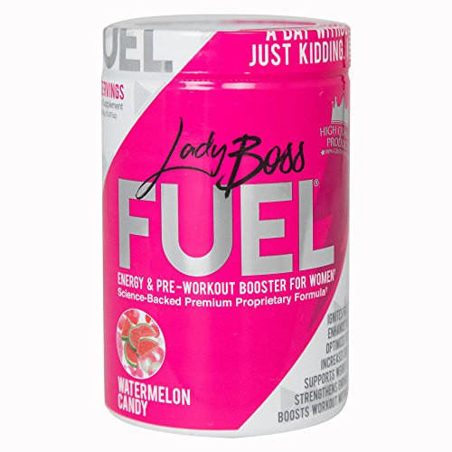 LadyBoss FUEL - Premium Pre Workout Powder FOR WOMEN - Motiv