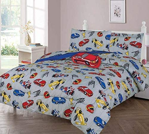 Comforter Bedding Set, Race CAR