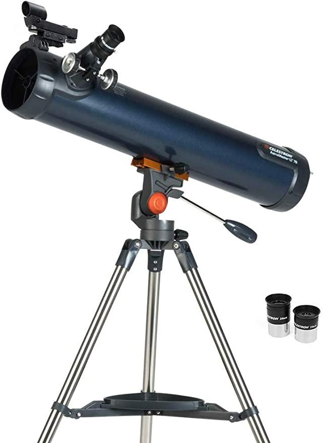 Celestron 21061 Astromaster 70 Az Refraktor Teleskop Kamera