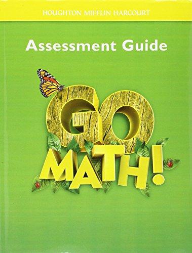 Go Math!: Assessment Guide Grade 1