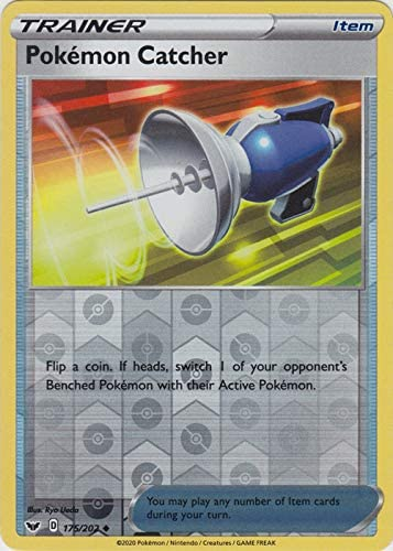 Mint Pokemon Sword /& Shield Base Playset of 4 Pokemon Catcher 175//202