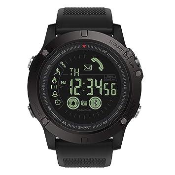 Cebbay Reloj Inteligente Monitor de sueño,Podómetro,Calendario,Control Remoto de música Impermeable IP68 con Cronómetro para Android y iOS: Amazon.es: ...