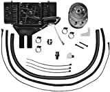 Jagg Oil Coolers Horizontal Low-Mount 10 Row Fan-Assisted Oil Cooler Kit - Black 751-FP2500
