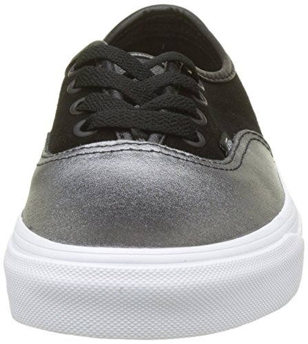 Black 2 Sneaker Metallic Vans Leather Multicolore Donna White Seasonal tone Authentic True 77Rfn1F
