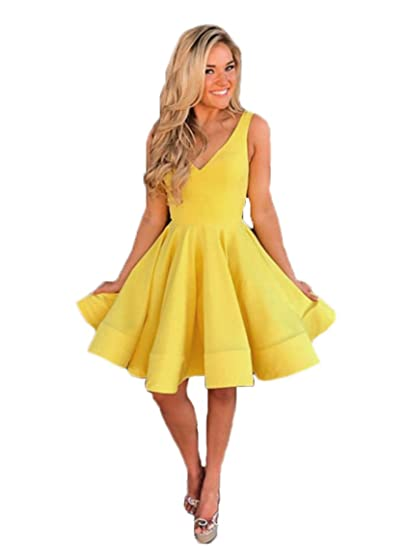 Review Graceprom Women's 2018 Yellow