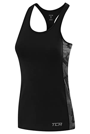 9a1d5eab126ff TCA Women s Graphic Printed Training Tank  Amazon.co.uk  Sports ...