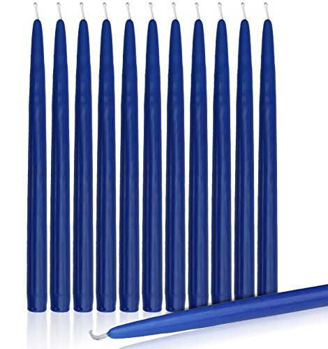 Higlow candles shop Home /& Holiday Decoration Dinner Candle Set of 12 Higlow Dripless Taper Candles 8 Inch Tall Wedding White