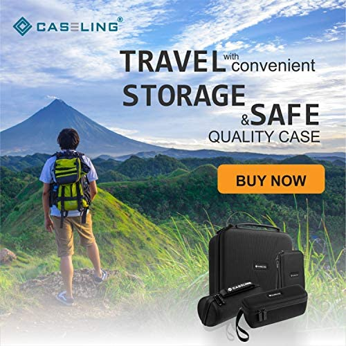 Hard CASE for Samsung Gear VR – Virtual Reality Headset. by Caseling 51x3kOhD3pL