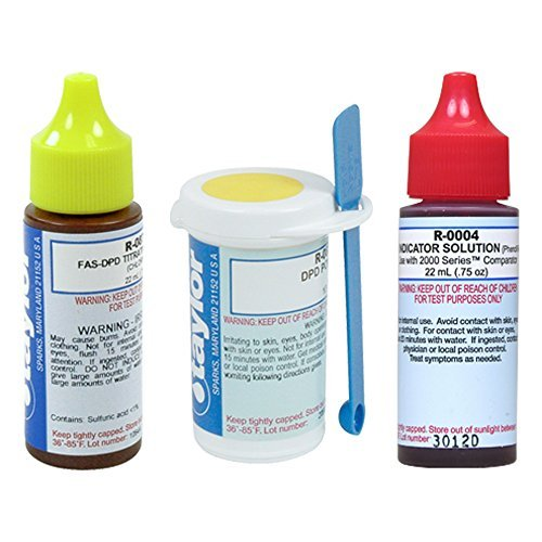 Taylor Replacement Reagent Refill Kits - FAS-DPD Refill Kit by Taylor
