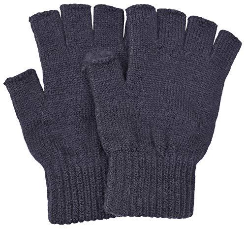 SUNNYTREE Womens Fingerless Gloves Knit Cashmere Warm Winter